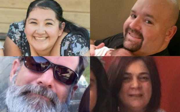 Victims of the California shooting.