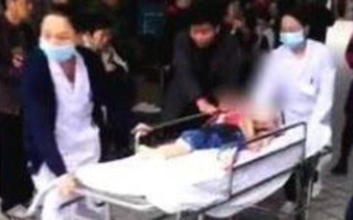 Woman stabs 14 kids in Chinese kindergarten