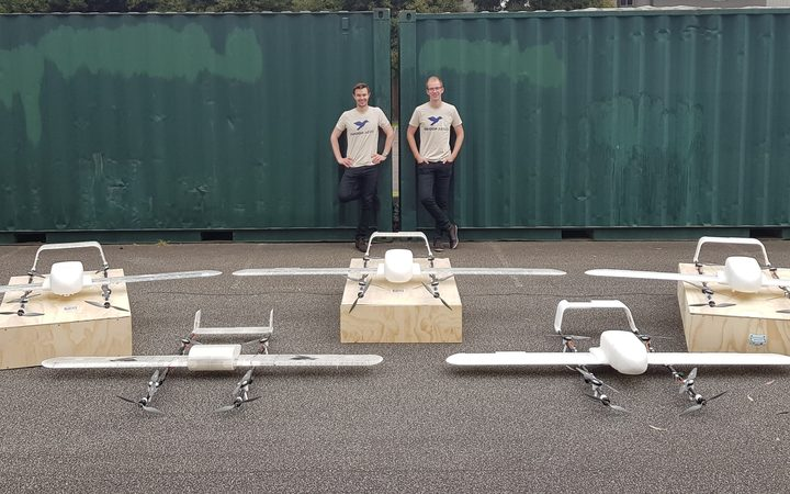 The trial drones that will fly vaccines in Vanuatu.