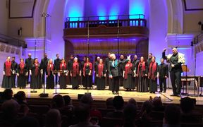 Voices NZ performing at Cadogan Hall