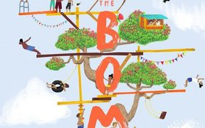 "cover of the book ""The Bomb"" by Sacha Cotter"