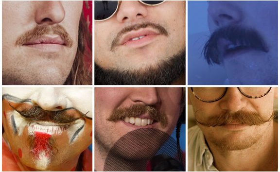 NZ music moustaches