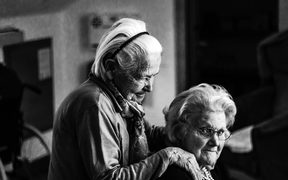 Strong social relationships are key to ageing well.