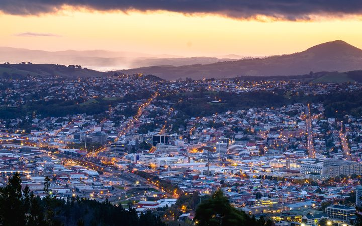 Cityscape of Dunedin.