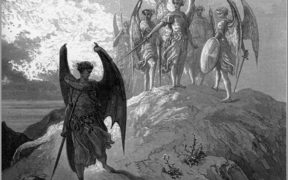 Satan cast out from Dore's Paradise Lost illustrations