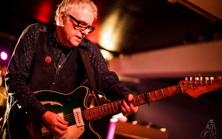 Wreckless Eric playing in Spain, 2014
