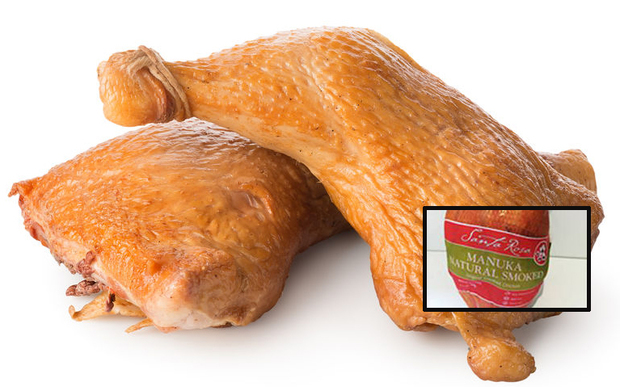 Santa Rosa's manuka smoked chicken has been recalled.