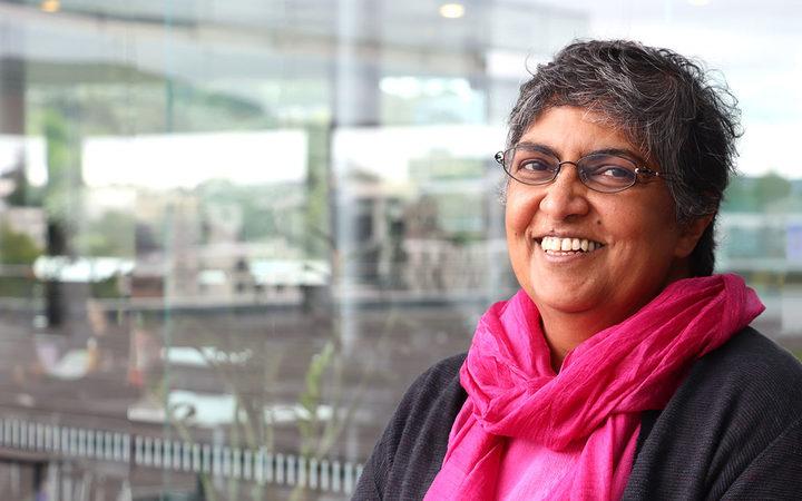 Professor Elizabeth George from Auckland University's Graduate School of Management.