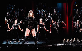 Taylor Swift at Mt Smart Stadium