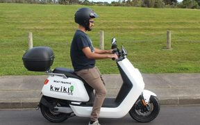 Kwikli scooters have launched in Auckland.
