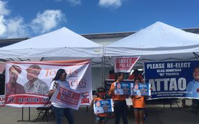 Political campaigning in CNMI