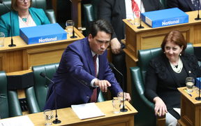 Leader of the National Party Simon Bridges during the general debate.