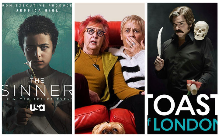 Lara Strongman reviews The Sinner, Goggle Box and Toast of London