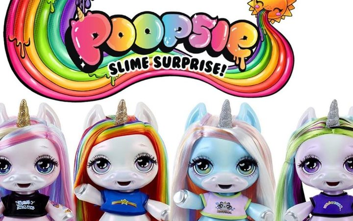 Poopsie the Surprise Unicorn is as it sounds - a unicorn that poos a glittery slime.