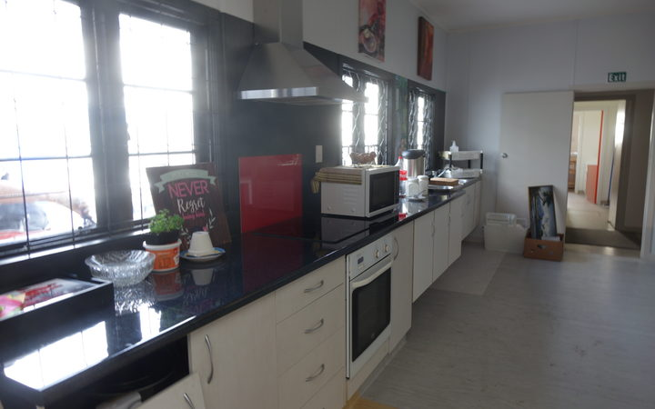 Whangārei's homeless will be able to use a brand new kitchen at the Open Arms shelter.
