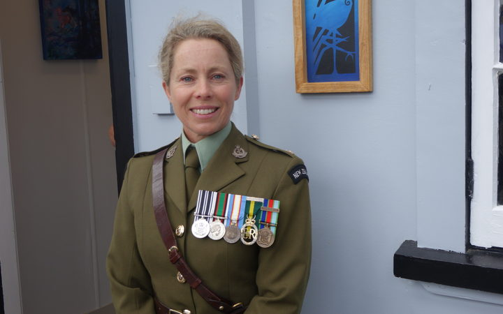 Major Roberta Wilkinson visits Whangārei's  former Army Drill Hall site to see its rebirth as a homeless shelter.