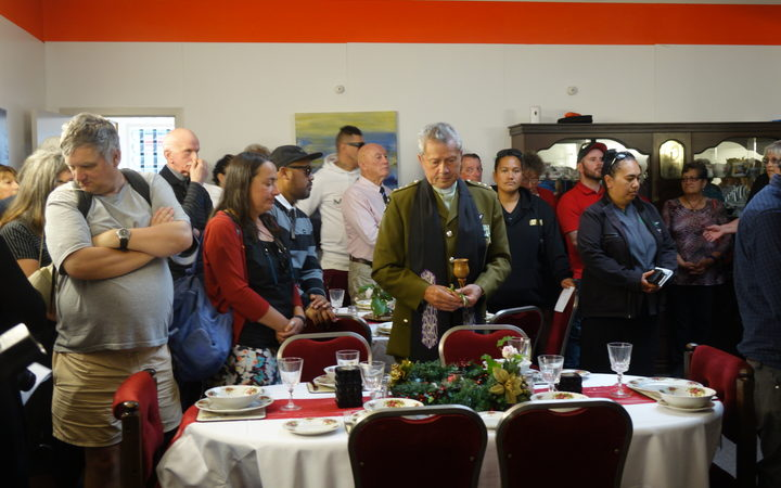 Crowds poured into the Whangārei homeless shelter, Open Arms, this morning after a naming ceremony.