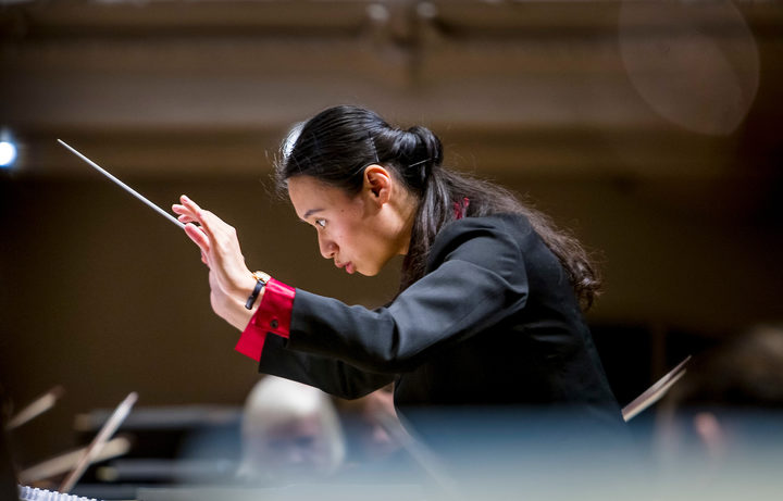New Zealand conductor Tianyi Lu