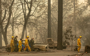 The doll toll from the fires has now reached 76, a state record.