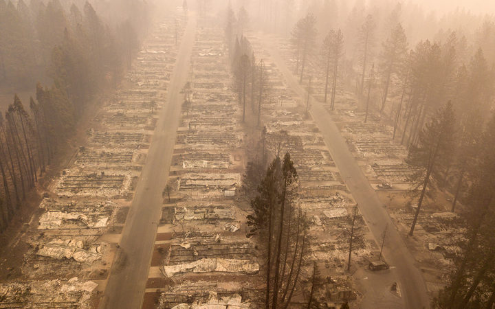 More than 12,000 buildings have been destroyed in the fire.