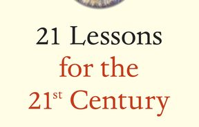 "cover of the book ""21 Lessons for the 21st Century"" by Yuval Noah Harari"