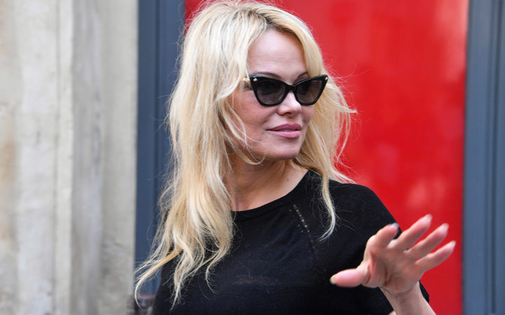 US-Canadian actress and animal protection activist Pamela Anderson.