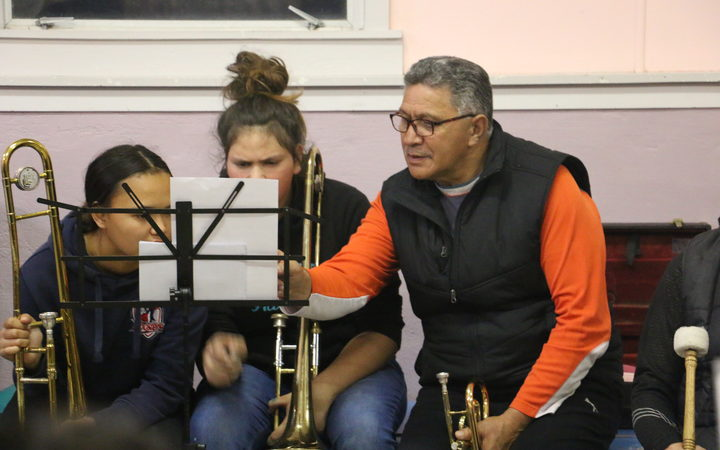 Bandmaster Manihera (Merv) Mcloed says after the big Ratana events there is an influx of new members both teens and adults.