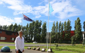 Refugees As Survivors New Zealand chief executive Ann Hood at the Mangere Refugee Resettlement Centre.