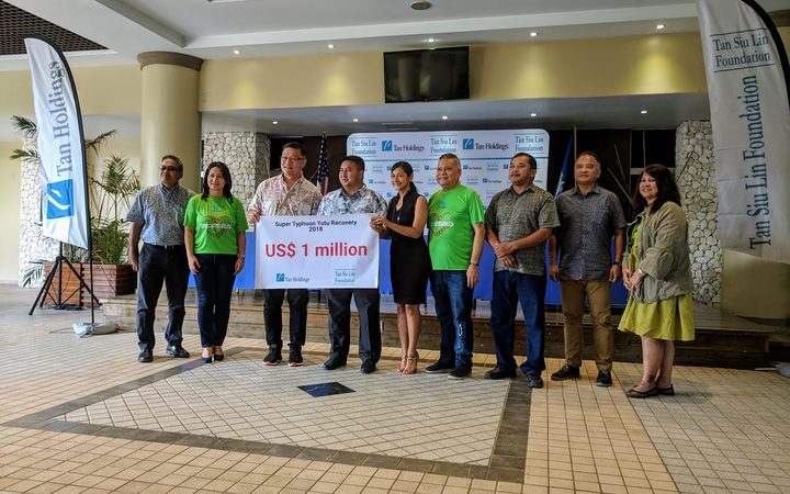 $US1,000,000 for CNMI typhoon victims