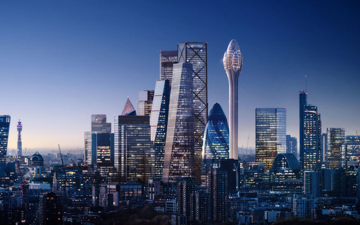Foster + Partners unveils plans for 'sci-fi' tourist tower The Tulip