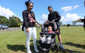 Ngawiki and his youngster thought the price was too high for the KiwiBuild homes.