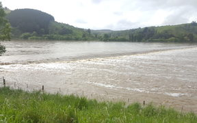 Water continues to pour into flood plains near Dunedin.