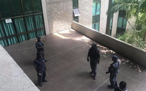 Security at PNG parliament