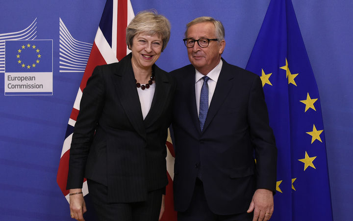 The British Prime Minister briefly escaped the Westminster bear pit to bring her Brexit battle to Brussels, just four days before the divorce deal is to be signed.