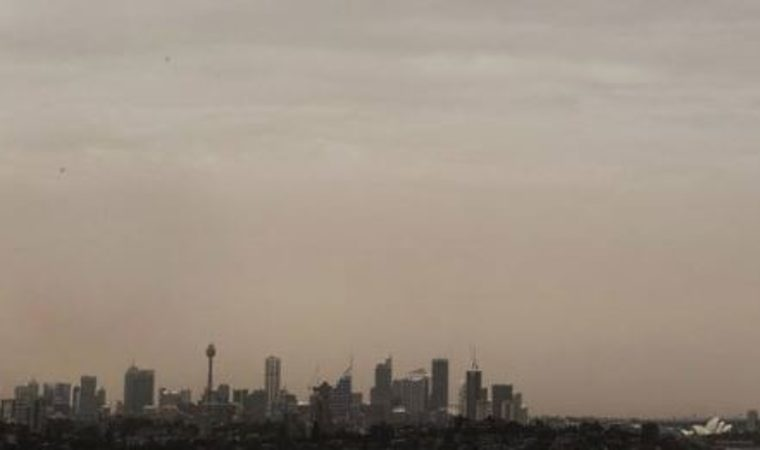 Dust storm hits Australia's Sydney, residents urged to take precautions