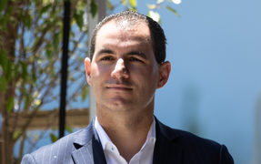 Ex-National MP Jami-Lee Ross makes his first public appearance since receiving treatment for mental health issues.