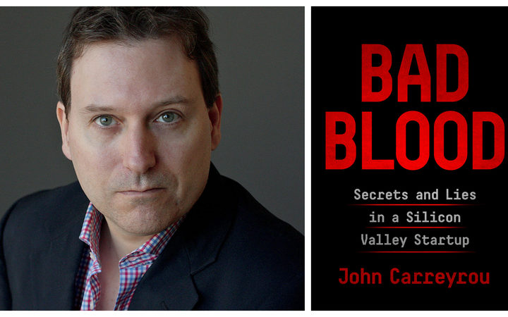 Wall Street Journal reporter, John Carreyrou, author of Bad Blood