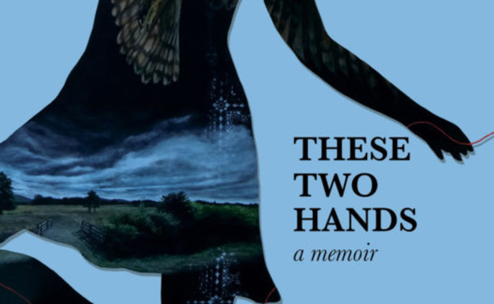 "cover of the book ""These Two Hands"" by Renee"