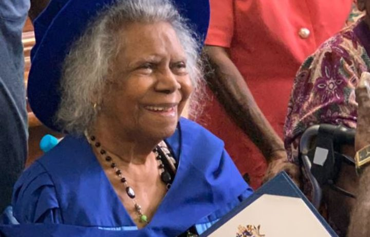 Bonita Mabo has been recognized for her advocacy work and campaign for the rights of indigenous Australians and Australian islanders of the southern seas.