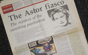 A Nelson Mail front page feature on Linda Astor, the fake psychiatrist.