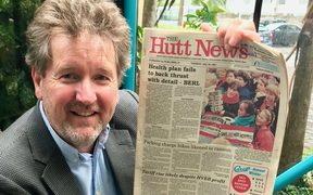 Hutt City councillor and former Hutt News editor Simon Edwards