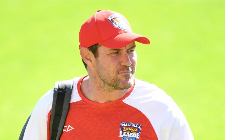 Tonga rugby league coach Kristian Woolf.