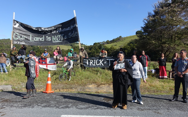 Some iwi members did not agree with the settlement