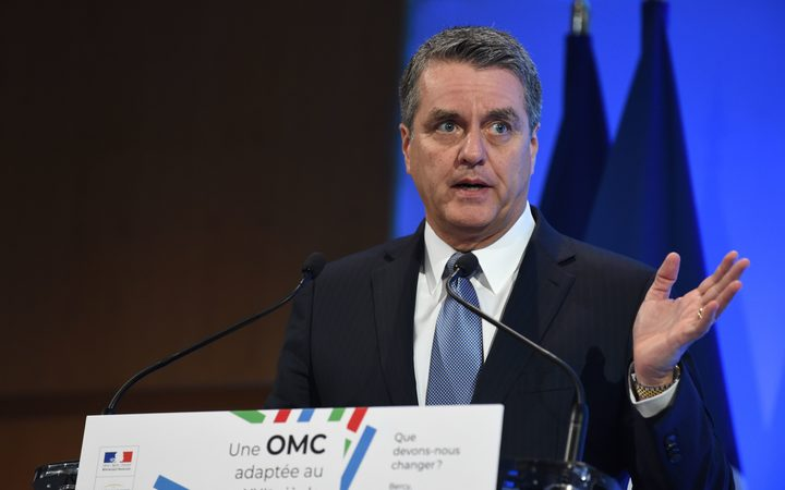 Director General for the World Trade Organisation (WTO) Roberto Azevedo.