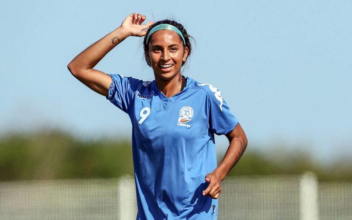 sport fiji footballers aim to get on nz nerves rnz news