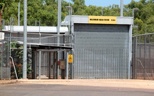 A fence at an immigration detention centre in Darwin, Australia (file photo).