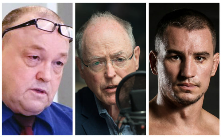 Arthur Taylor, Don Brash and Karel Sroubek