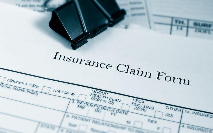 Insurance claim form.