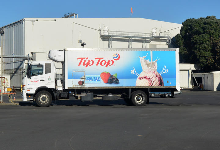 Tip Top Ice cream factory in Auckland, New Zealand.