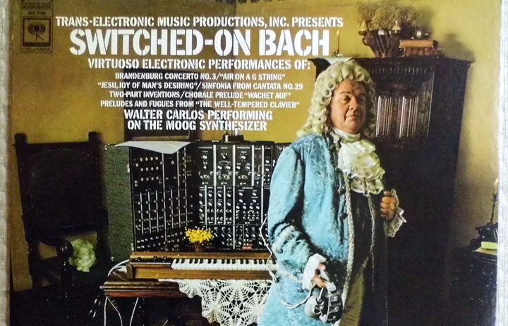Switched on Bach album artwork